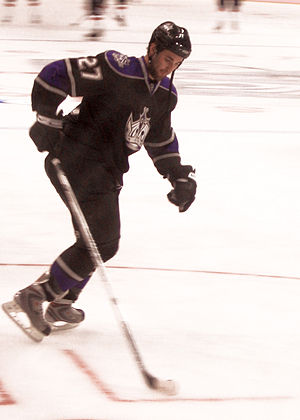 Kyle Quincey - Quincey during his tenure with the Kings