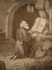 The Hermit Praying