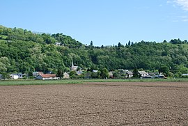 A general view of Lézignan