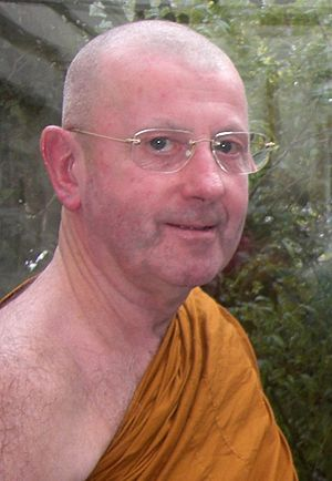 Ajahn Khemadhammo - Image: LPK Close up