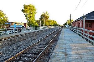 LaSalle station (RTM) - Image: La Salle AMT station