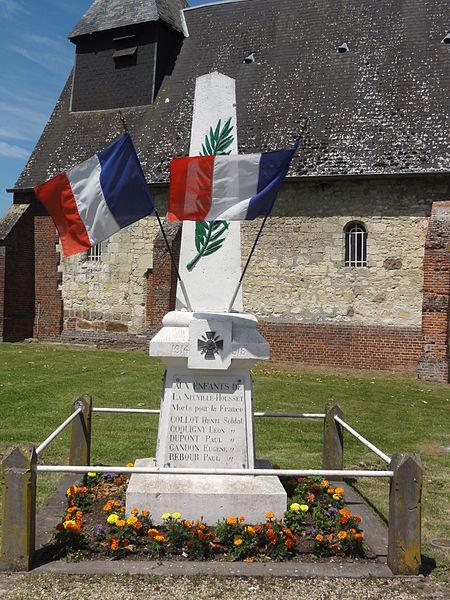 La Neuville-Housset (Aisne) monument aux morts