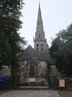 Mûr-de-Bretagne - The Chapel of Sainte-Suzanne