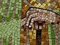 La obra de Santiago Padrós en la entrada del Seminario Conciliar de Barcelona 07.jpg