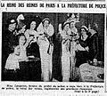 La reine des reines de Paris 1935 à la Préfecture de police - L'Echo de Paris - 29 mars 1935 - page 1.jpg