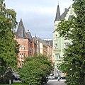 La rue Luotsikatu, quartier de Katajanokka (Helsinki) (2769251000).jpg