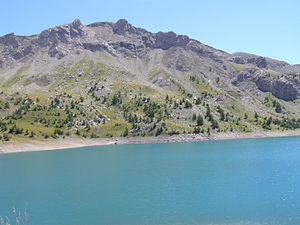 Lac d'Allos - Image: Lac d'Allos 4