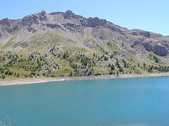 Lac d'Allos - Image: Lac d'Allos 4