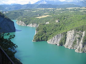 Image illustrative de l'article Lac de Monteynard-Avignonet