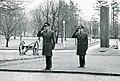 Lage Wernstedt och Jarl Sjöberg vid I 16 år 1968 GLVF.000358.jpg