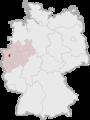 Lage der kreisfreien Stadt Duisburg in Deutschland.png