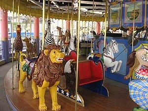Lagoon (amusement park) - Lagoon's Carousel.