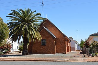 Lake Cargelligo, New South Wales - Image: Lake Cargelligo Uniting Church 001