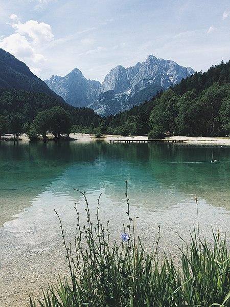 File:Lake in Slovenia 2015.jpg