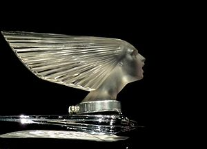 "René Lalique - Image: Lalique ""Spirit of the Wind"" Mascot Flickr ingridtaylar"