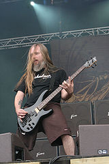 Bassist John Campbell performing at With Full Force 2007
