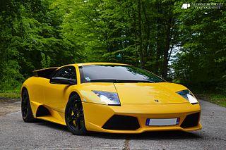 Lamborghini Murciélago Sports car produced by Lamborghini
