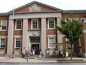 Library System of Lancaster County - Lancaster Public Library on Duke Street in Lancaster City