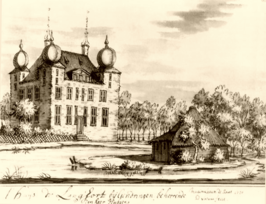 Huis Landfort in 1720