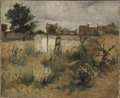 Landscape Study from Barbizon (Carl Larsson) - Nationalmuseum - 19198.tif
