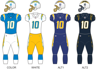 Los Angeles Chargers National Football League franchise in Los Angeles, California