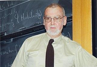 Robert Langlands Canadian mathematician