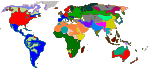 Major world language groups