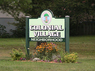Lansing, Michigan - Colonial Village
