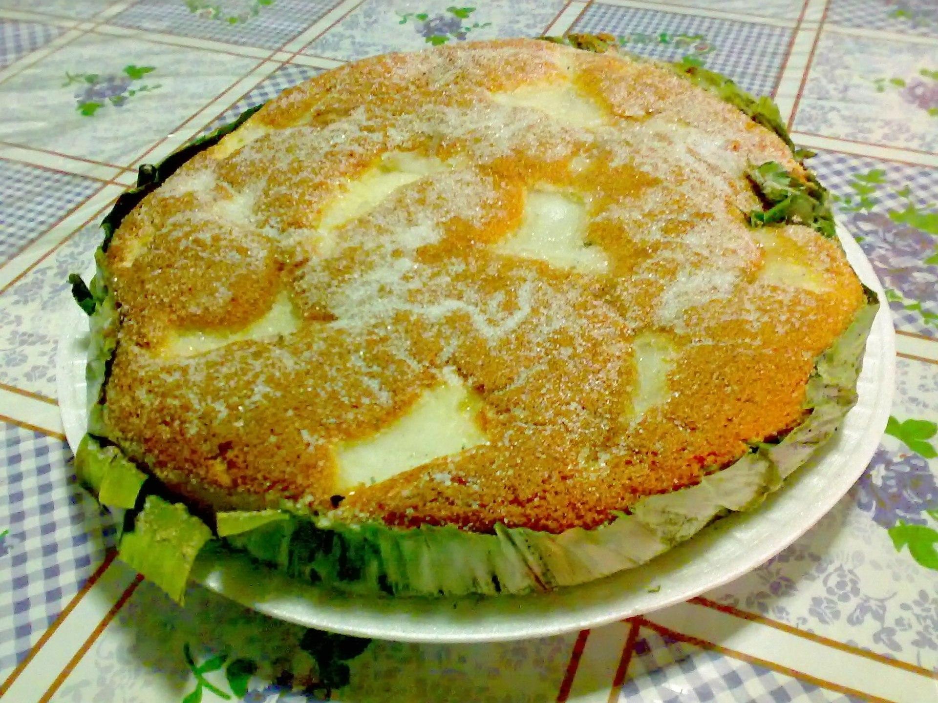 Rice Flour Christmas Cake