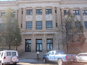 Las Animas County, Colorado - Image: Las Animas County, CO, Courthouse IMG 5034