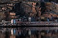 Last light of the day on shacks in Govik 5.jpg
