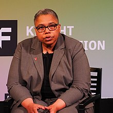 Latanya Sweeney at a Knight News Challenge event in New York City, November 2017.jpg