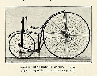 Harry John Lawson - Lawson's rear-driving Safety 1877