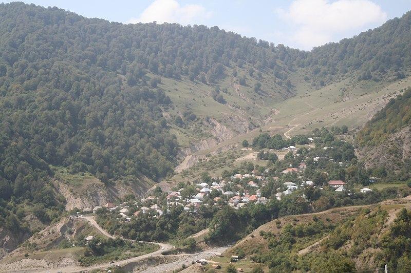 File:Laza village in Qabala Rayon.jpg