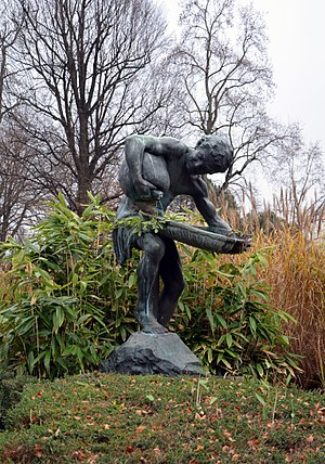 Edouard-Marcel Sandoz - Image: Le Faune d'Édouard Marcel Sandoz