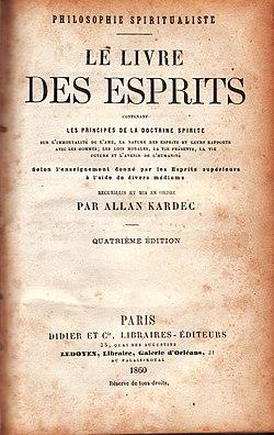 Image illustrative de l'article Le Livre des Esprits
