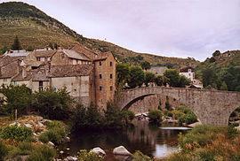 The bridge in Montvert