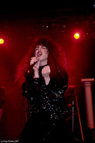 Lee Aaron - Aaron performing in Toronto (1987)