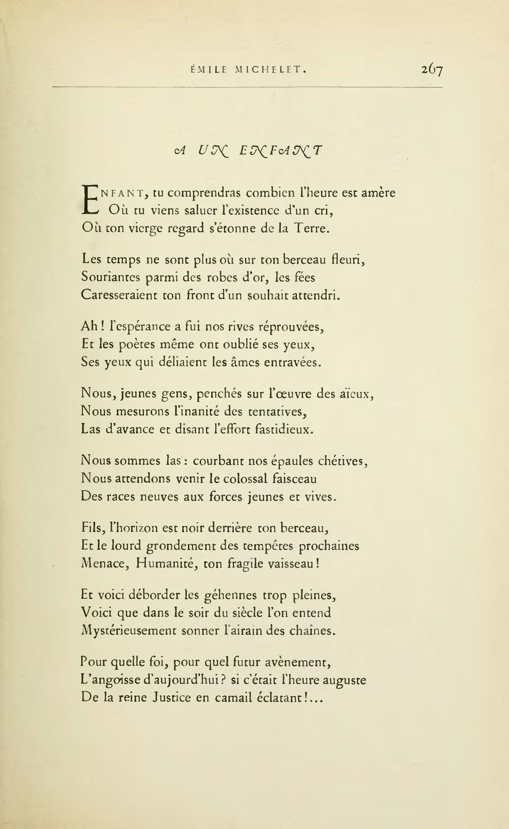99bb77d0737 Page Lemerre - Anthologie des poètes français du XIXème siècle