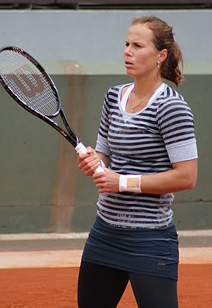 Varvara Lepchenko - Lepchenko at the 2013 French Open