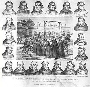 Martyrs of Gorkum - 19 Martyrs of Gorcum