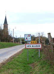 The entrance to the village
