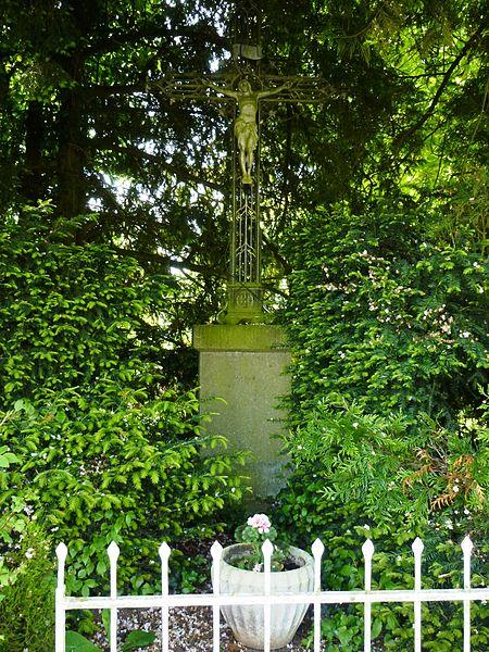 Les Places (Eure, Fr) croix de chemin