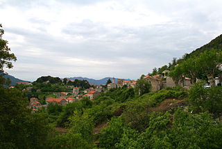 Levie Commune in Corsica, France