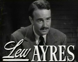 Lew Ayres in Johnny Belinda trailer.jpg