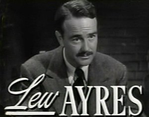 Lew Ayres - in Johnny Belinda (1948)