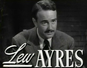 Johnny Belinda (1948 film) - Image: Lew Ayres in Johnny Belinda trailer