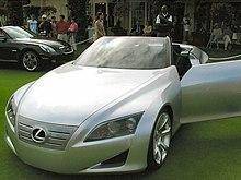 The Lexus LF-C concept.
