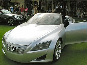 Lexus LF-C at the 2004 Pebble Beach Concours d...