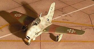 Lippisch P.20 - Model of the Li P.20